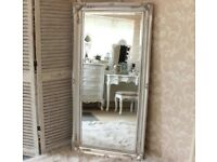 SILVER WALL MIRROR EXTRA LARGE