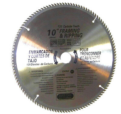 """Used, 4 pcs 10"""" saw blades 120th carbide teeth Miter Saw Table Saw Wood Cutting Blade for sale  Shipping to Canada"""