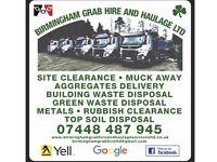 Birmingham grab hire & haulage ltd Halesowen Stourbridge Wolverhampton Tamworth Walsal