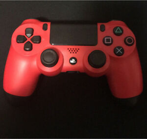 Pristine Condition Red ps4 controller