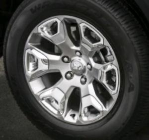 2016 Ram 1500 wheels swap for black
