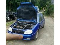Saxo 1.1 Breaking All Parts 106 206 Citroen Peugeot Spares Repairs