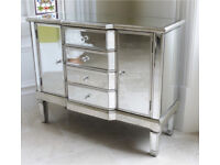 Brand new Mirrored Venetian sideboard Furniture living dining room