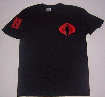 Storm Shadow Black T Shirt Gi G I Joe Cobra  Retaliation Rise Movie Tee T Shirt