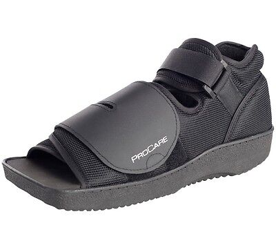 - NEW PROCARE SQUARE TOE POST-OP SHOE MED/SURG FOOT TRAUMA SHOE ALL SIZES IN BLACK