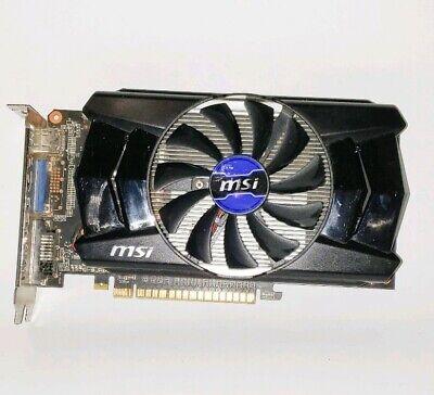 Used, MSI NVIDIAGTX750 Ti 2GB DDR5 PCI-E Graphic Card N750Ti-2GD5/OC VGA DVI HDMI for sale  Shipping to India