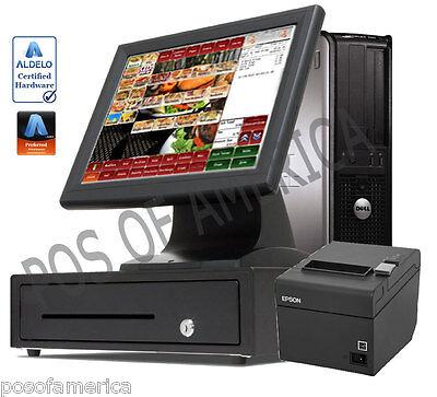 Aldelo Pro Bar Grill Restaurant Bar Bakery Value Complete Pos I3 System New