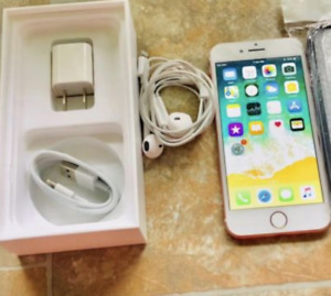 Apple iPhone 7 32GB Rose Comes in Box with all Original Content