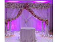 Wedding Engagement Mehndi Birthdaty & Shower backdrops and staging.