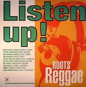 Various-Artists-Listen-Up-Roots-Reggae-NEW-VINYL-LP-10-99