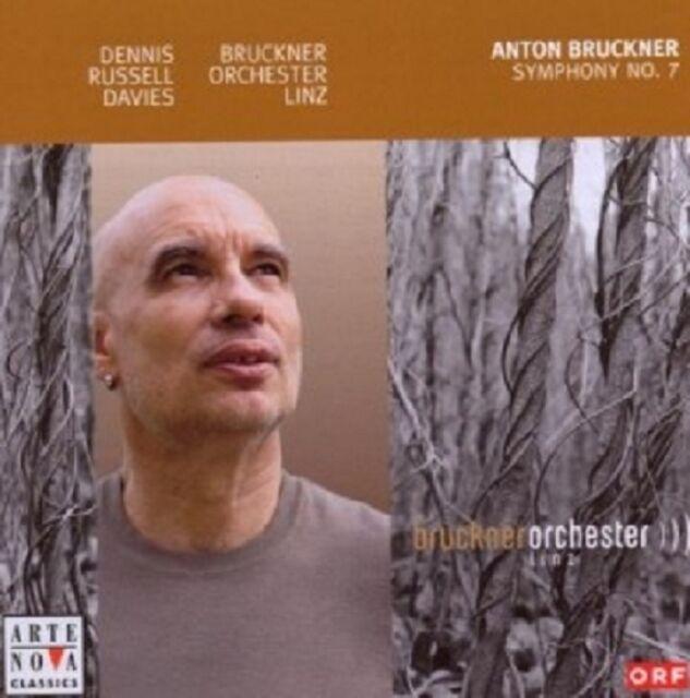 DENNIS RUSSELL DAVIES/BRUCKNER ORCHESTER LINZ - SINFONIE 7  CD 4 TRACKS NEU