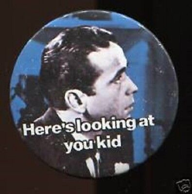 """Here's Looking At You Kid, Vintage 1970's - 1980's  2 ½ """""""