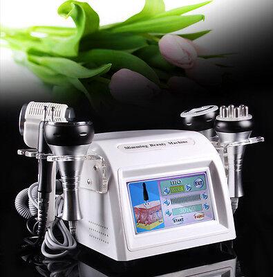 8 In 1 Cavitation Vacuum Anti-aging Multipolar Rf Bio Cold Hammmer Tool Us Stock