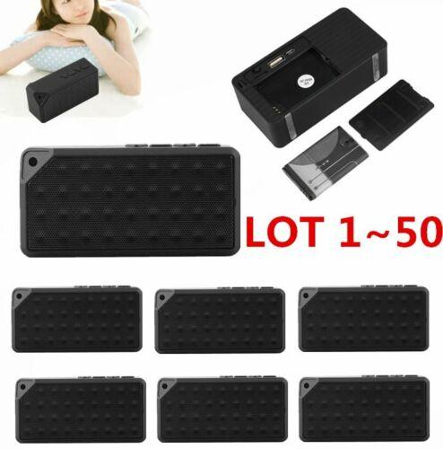 LOT Portable FM Radio Wireless Bluetooth Speaker For iphone