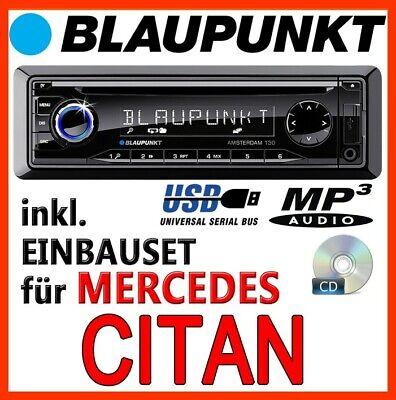 BLAUPUNKT Mercedes-Benz Citan W415 - RADIO CD MP3 USB AUTORADIO PKW - EINBAUSET