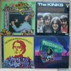KINKS - Great English institution - 14 LP, plusieurs double.