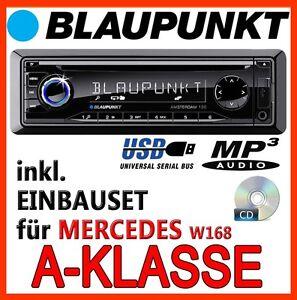 Blaupunkt-Mercedes-Benz-W168-CLASSE-A-Radio-Cd-Mp3-Usb-Set-di-montaggio