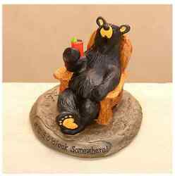5 O'Clock Somewhere Figurine Bearfoots Big Sky Carvers #B5080046 Demdaco