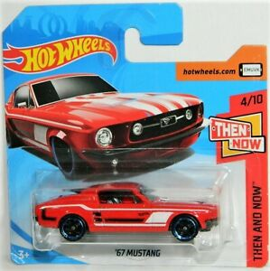 Hot Wheels 1/64 '67 Mustang Diecast Car