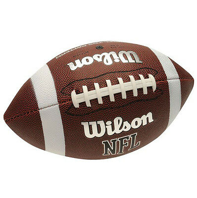 Wilson NFL TDS Pattern Soft Grip American Football Official AFVD Super Bowl