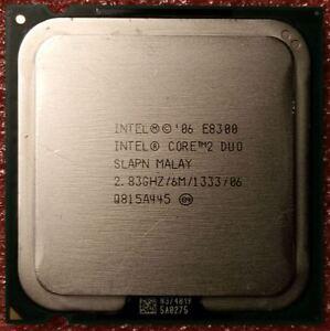 Intel Core2 Duo E8300 (6M Cache, 2.83 GHz,1333 MHz FSB) OEM CPU