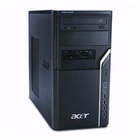 Quadcore windows 10 desktop(2.46ghz, GeForce 8400, 8gb ddr2, 1tb hdd)