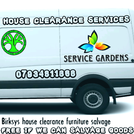 We clear propertys house & garage clearance services