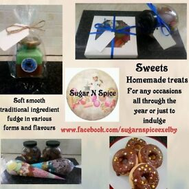 Homemade treats and sweets