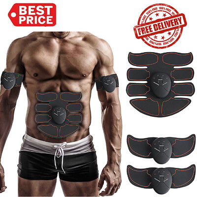 Smart ABS Muscle Arm Waist Magic EMS Training Gear Body Exerciser Simulation US