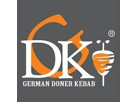 Waiters for new German Doner Kebab store in London