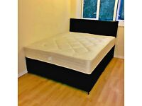 😘😘HUGE SALE ON😘😘 BRAND NEW FAUX LEATHER BEDS😘😘CASH ON DELIVERY😍😍