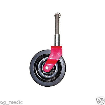 Complete 8 Gauge Wheel Assembly For Finish Mower Fits Maschio Caroni And More