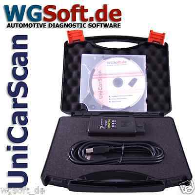 UniCarScan USB Professionelle OBD 2 Kfz Diagnose für alle Fahrzeugmarken