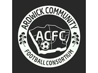 Coaches WANTED!!! ACFC academy