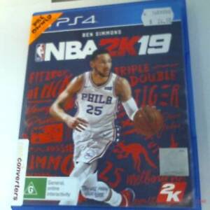 Sony PS4 Game Disc-NBA 2K19