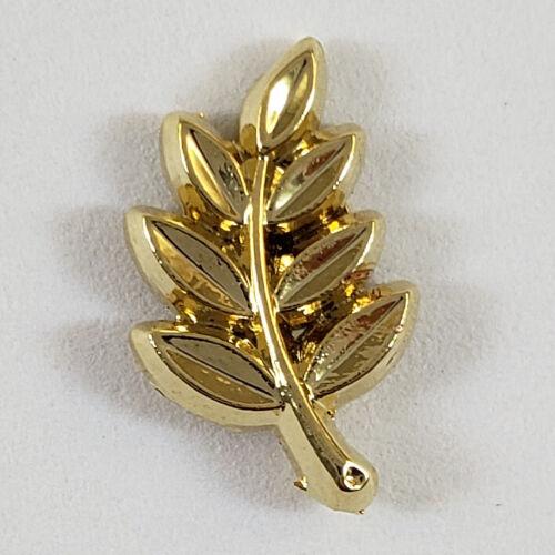 Masonic Sprig of Acacia Small Tiny Lapel Pin Mason Freemason