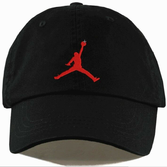 58a6d48e41d Jordan Jumpman Unstructured Hat Adjustable CUSTOM New-EMBROIDERED, Free  Shipping