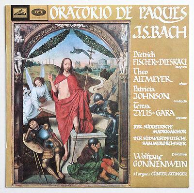 Nm Fischer Dieskau   Gonnenwein J S Bach Easter Oratorio Bwv 249 Asdf Stereo Lp