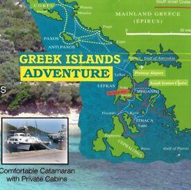 FRIENDS SAILING. GREEK ISLANDS. ENGLISH SKIPPER TO TEACH AND GUIDE YOU