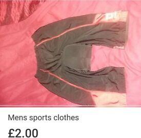 Mens new padded cycling shorts