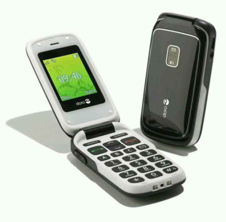 doro phoneeasy 610 large button and simple mobile phone on. Black Bedroom Furniture Sets. Home Design Ideas