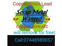 Hi there do you have any unused copper,Lead,brass..what needs recycling