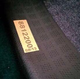 Saxony Mid Deep Grey Heathered Twist Carpet 1.13cm x 1.93cm NEW