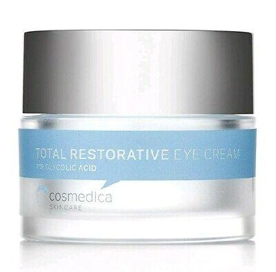 Cosmedica Total Restorative Eye Cream, 0.5 Ounce 1% Glycolic Acid