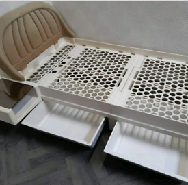 1970s Space Age James Seccombe single bed