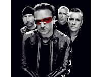 U2 Tickets - GREAT SEATS - Twickenham Stadium - Sunday 9th July