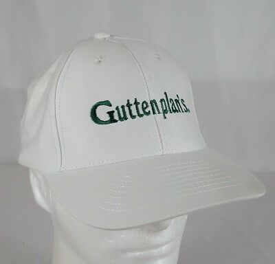 Guttenplan's Bakery Snapback Baseball Style Cap Hat White Embroidered NJ