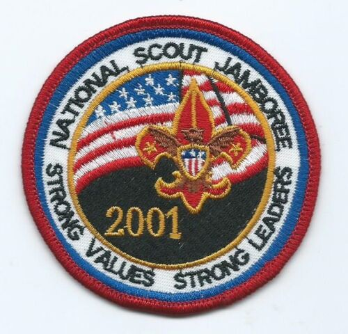 2001 National Jamboree Youth Participant Patch