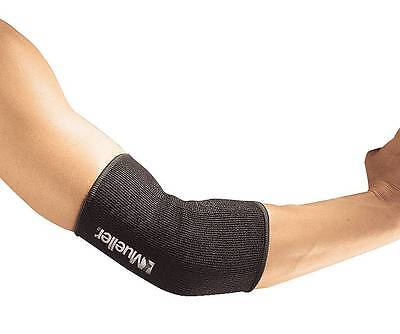 NEW MUELLER ELASTIC ELBOW SUPPORT FOREARM COMPRESSION SLEEVE BRACE #415 ALL SIZE ()