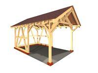 Brunnendach verzapft Brunnenüberdachung KVH Gartenmöbel Garten Brunnen Dach